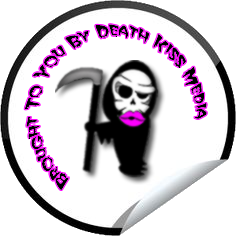 death kiss media sticker PNG 1