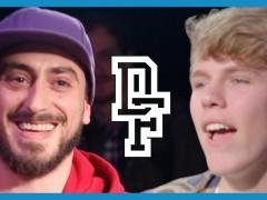 JUAN VS MR TONGUE TWISTER Dont Flop Rap Battle
